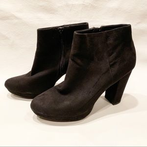 New Direction Black Ankle Boots
